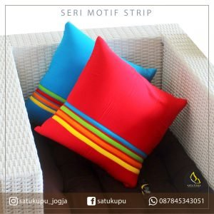 Sarung Bantal Sofa Uk 30×30-70×70 Motif Stripe
